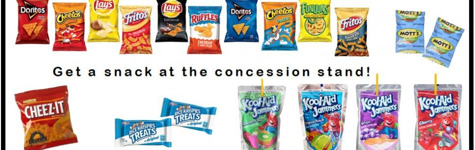 Children's Concession Stand for after school kids
