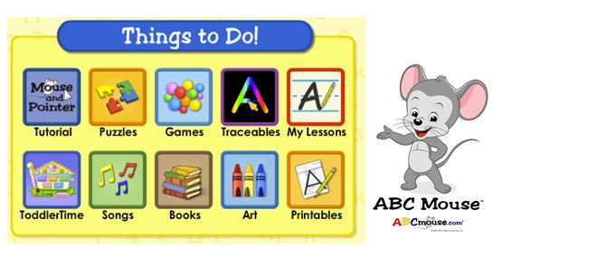 ABCmouse.com is FREE at our library!