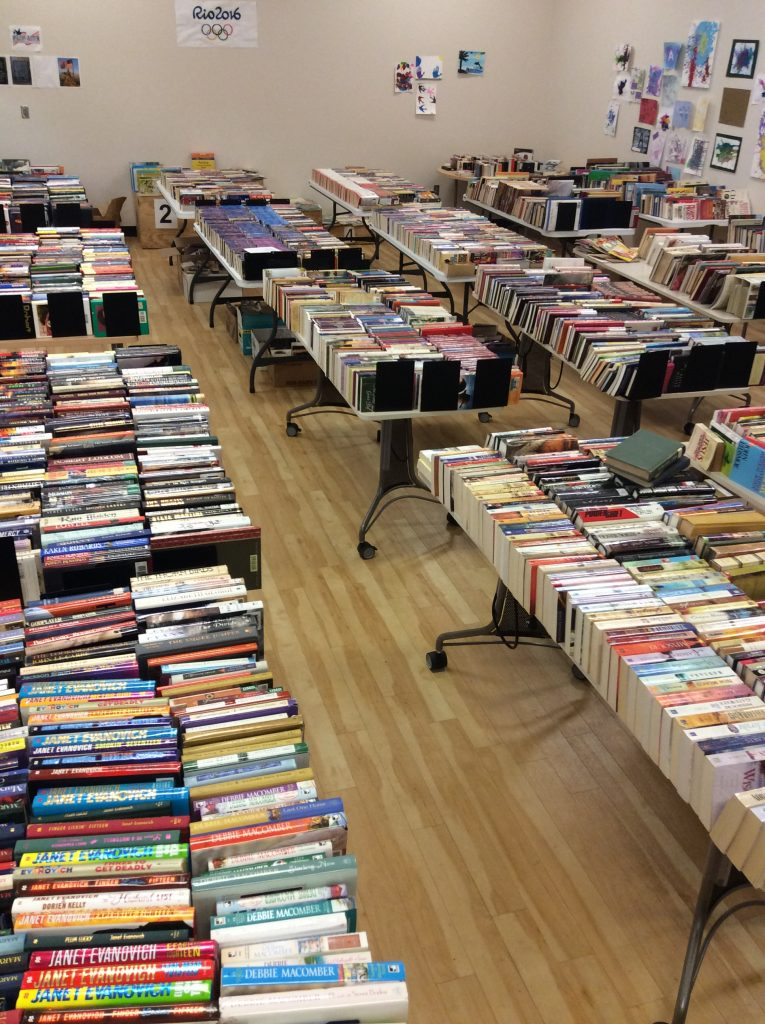 Our Book Sale is coming July 14-15!