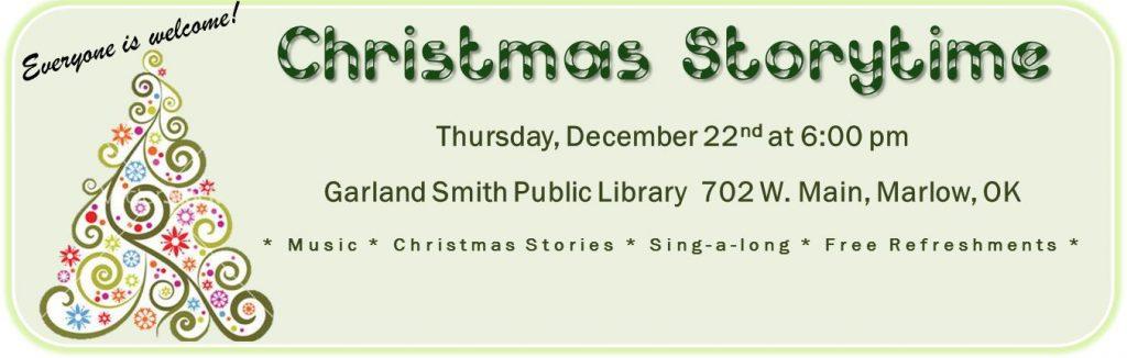 Christmas Storytime!