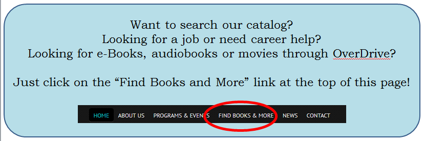 Find Books and More